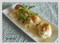 Alcachofas pate salsa nata