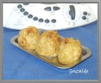 Croquetas arroz langostinos
