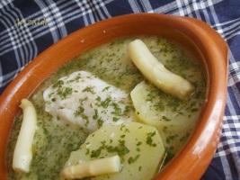 Patatas salsa verde