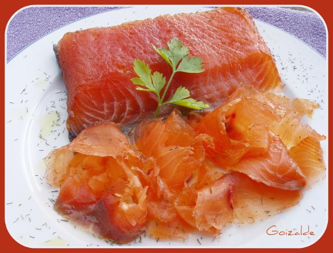Salm n ahumado sin thermomix cocinando con goizalde for Como se cocina el salmon