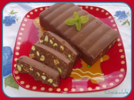 Turron pistacho chocolate