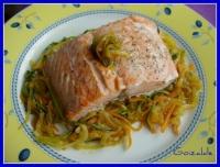 salmon verduras juliana