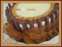 tarta 3 chocolates Alicia Malero