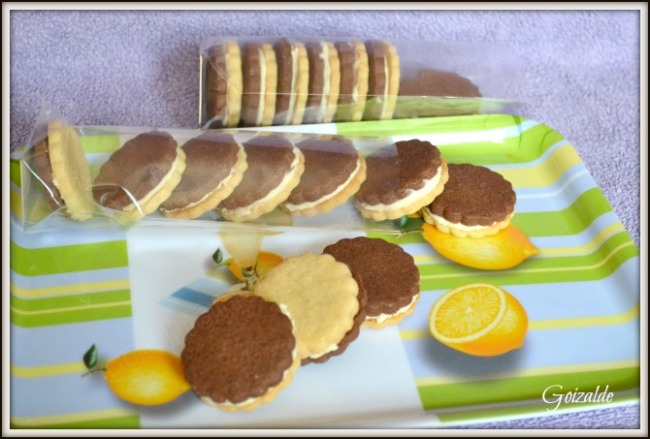galletas chocolate vainilla limon