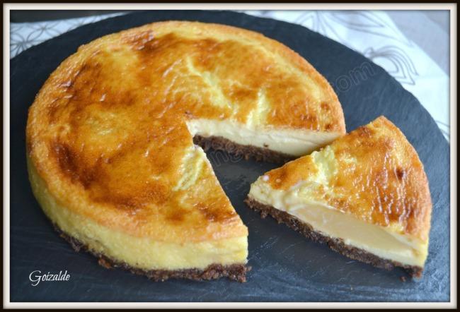 tarta queso pera