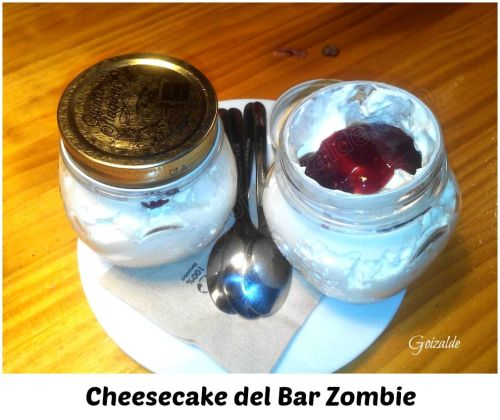 mousse de cheesecake zombie
