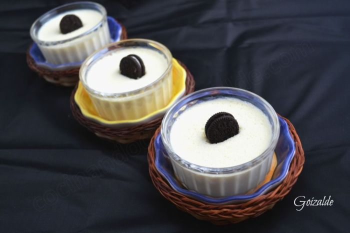 mousse tarta oreo y chocolate blanco